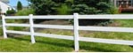 An example of a fence we built.